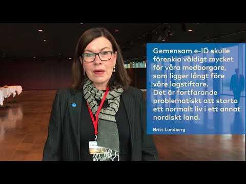 Skal vi have fælles ID i Norden? Britt Lundberg