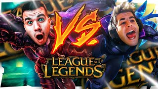 ¡NOS JUGAMOS 250€ 1VS1 EN LEAGUE OF LEGENDS!