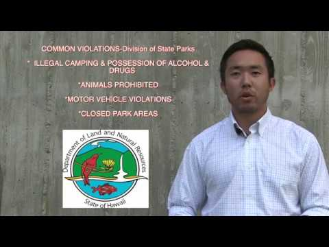 DLNR Division of State Parks Profile