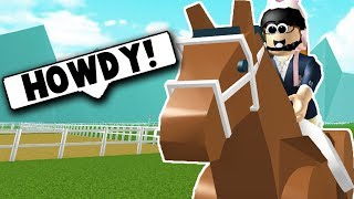 I BOUGHT MY FIRST HORSE! (Roblox Horse Valley) Roblox Roleplay (en)