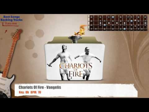 Chariots Of Fire - Vangelis Guitar Backing Track