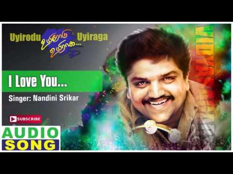 I Love You Song   Uyirodu Uyiraga Tamil Movie   Ajith   Richa Ahuja   Vidyasagar   Music Master