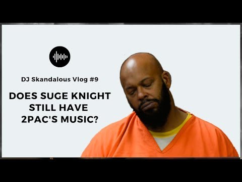 Suge Knight claims to still have 2Pac Unreleased Music! [VLOG #9]
