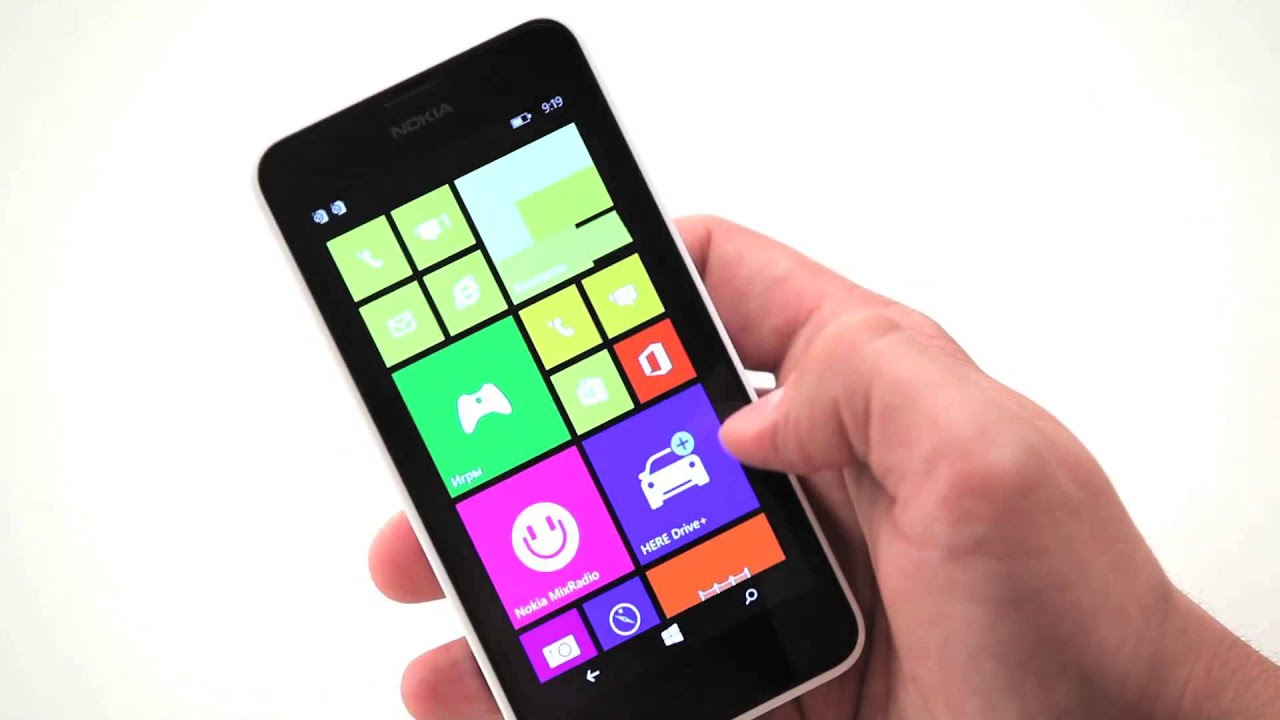 Смартфон NOKIA Lumia 630 Dual sim - YouTube