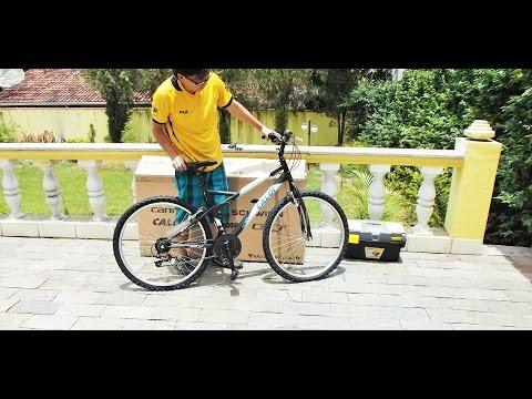 Como MONTAR uma bicicleta Caloi