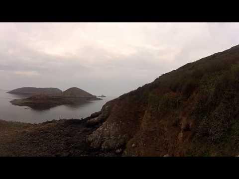 Les falaises de PAIMPOL et PLOUEZEC en paramoteur.