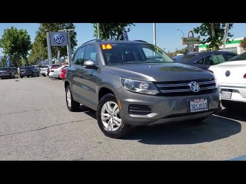 2016 Volkswagen TIGUAN 2.0T S San Jose Sunnyvale Hayward Redwood City Cupertino
