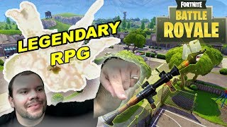 fortnite BATTLE ROYALE, PLEASANT PARK PARA MI SOLO, LEGENDARY RPG, GAMEPLAY ESPAÑOL-
