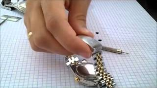 How to tighten your Rolex Buckle Snap