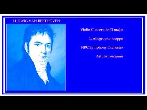 JASCHA HEIFETZ NBC Symphony Orchstra A.Toskanini L. van BEETHOVEN VIOLIN CONCERTO in D