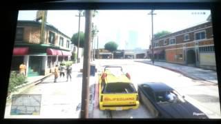 """GTA V"" GTA 5 on the BIG screen"