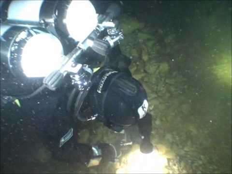 Mine diving at Kaatiala, Finland (2011)