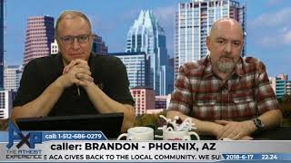 Evidence for God - Guarantees Best Call Ever | Brandon - Phoenix, AZ | Atheist Experience 22.24
