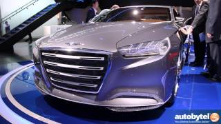 Hyundai HCD-14 Genesis Concept 2013 Videos