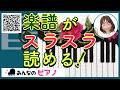 【初心者ピアノ・楽譜】楽譜をスラスラ読めるようにする方法・やり方