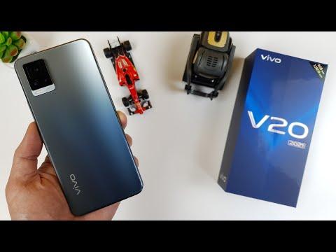Vivo V20 2021 Snapdragon 730 Unboxing | Hands-On, Design, Unbox, Set Up new, Camera Test