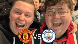 WHAT A WIN! MANCHESTER UNITED VS MANCHESTER CITY VLOG!