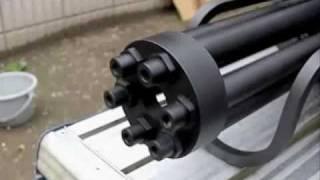 CAW M134 Minigun slow motion No.1