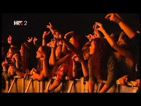 Artic Monkeys-IN Music festival Jarun Lake  Zagreb-2013-TV Pro Shot