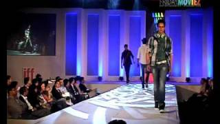 Hot dudes walk the ramp for DERBY