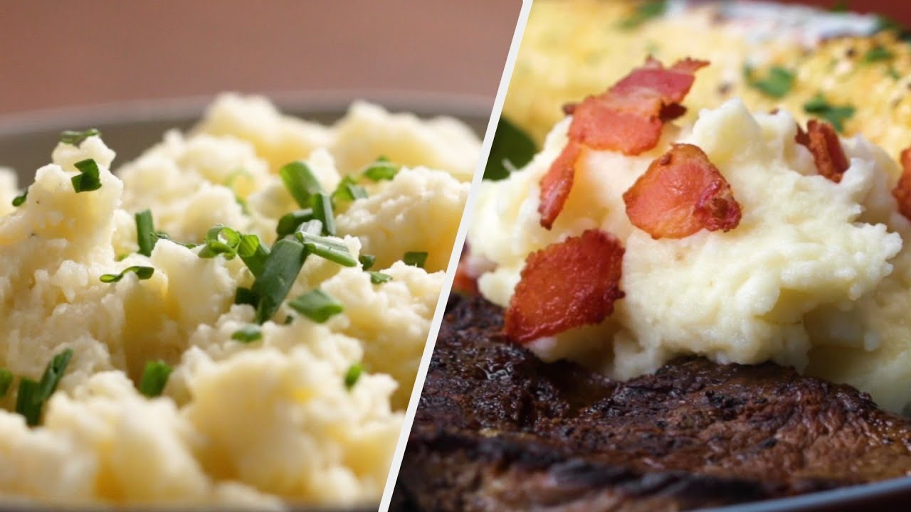 Mashed Potatoes For Your Next Dinner Party •Tasty