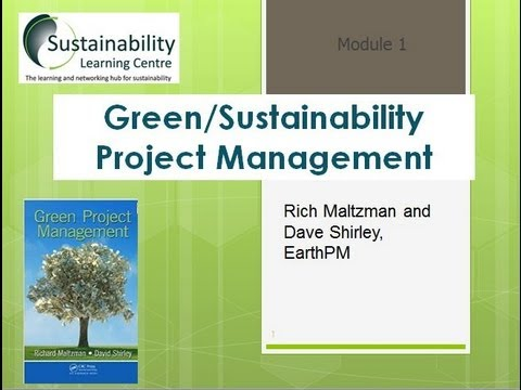 Green/Sustainability Project Management Overview