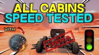 Speedometer Cabin Top Speed Test