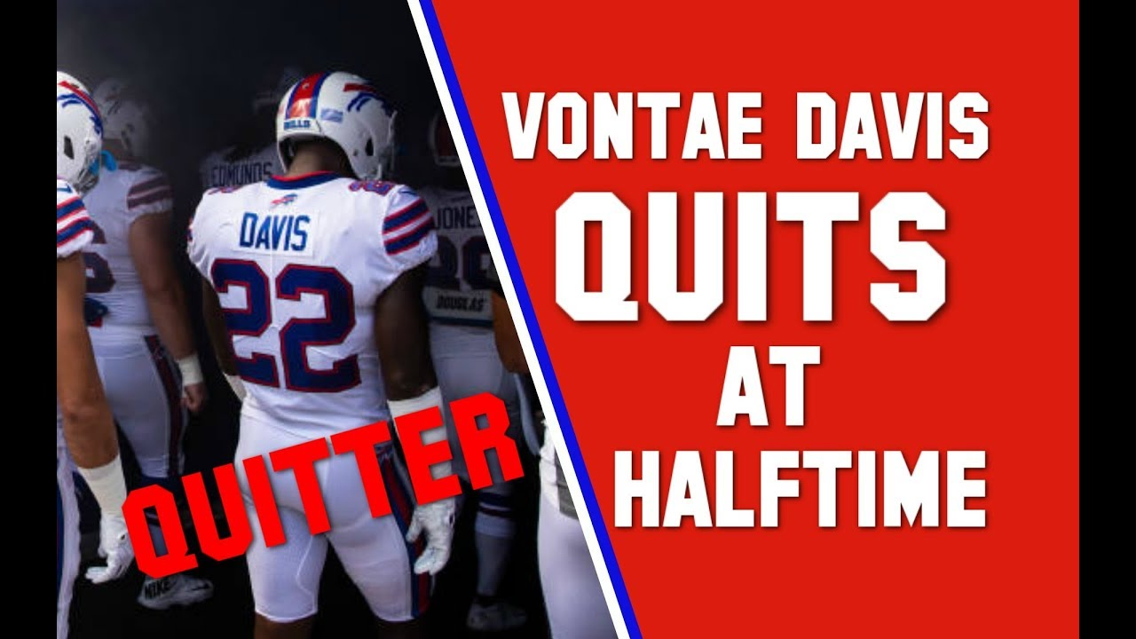 Vontae Davis QUITS Half Way Through The Bills v. Chargers game! -RANT (This  Isn t a Joke) ed6319188
