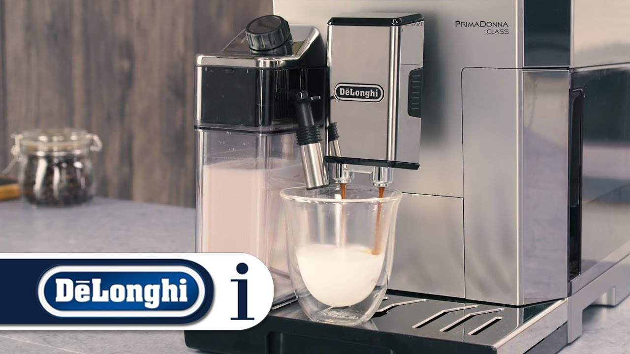 How To Make A Cappuccino In Your Primadonna Class Ecam55075ms Or Ecam 55055sb