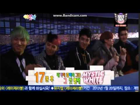 Seungri, G-Dragon, Daesung at SBS Gayo D.