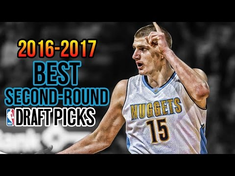 Top 10 BEST NBA Second-Round Draft Picks Among Current Active Players | 2016-2017