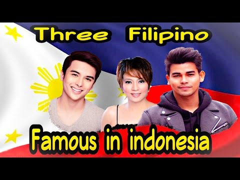 Three Filipino Famous And Live In Indonesia