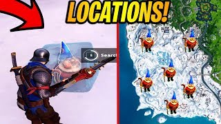 Search Chilly Gnomes Locations Fortnite Season 7 Week 6 Challenge