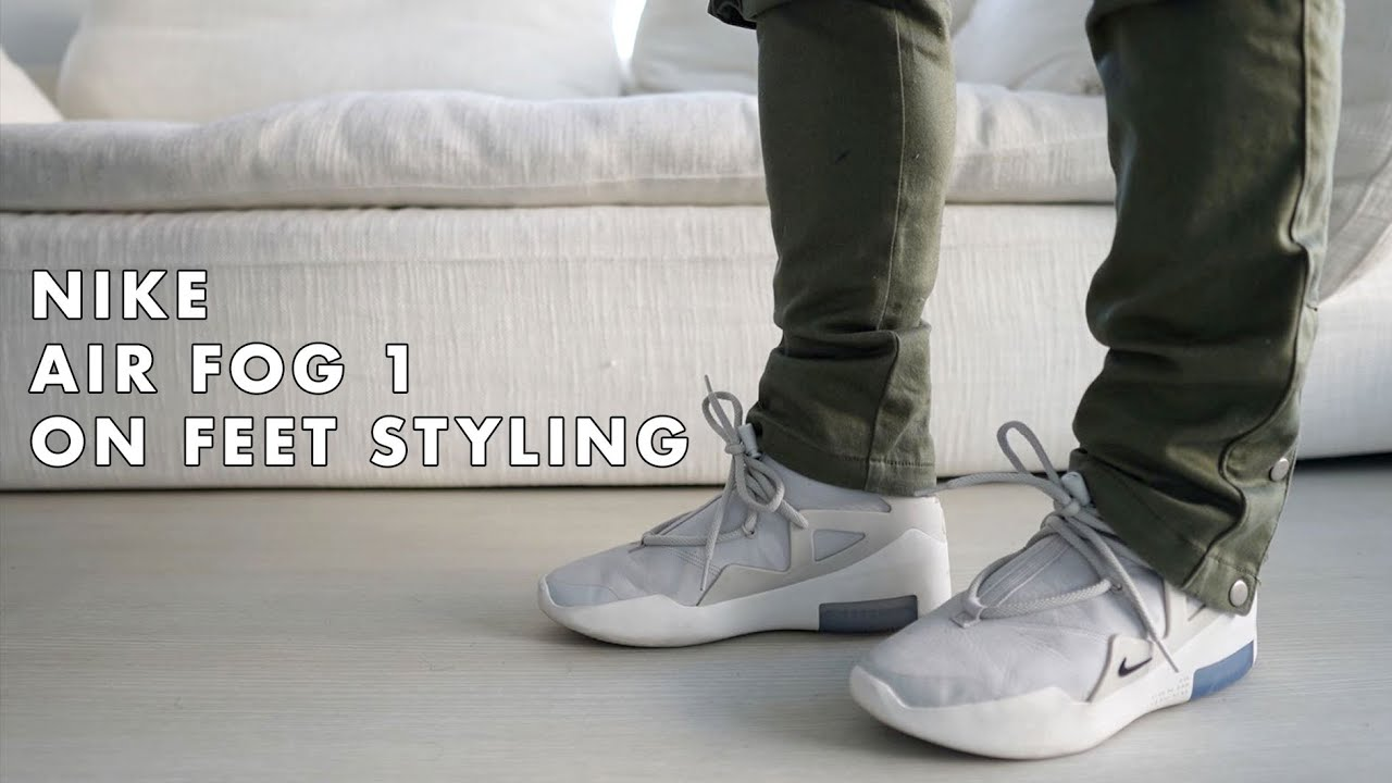 wholesale dealer a0669 51cba NIKE AIR FEAR OF GOD 1 ON FEET STYLING