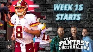 Fantasy Football 2016 - Starts of the Week, Week 15 Matchups, Boom-Boom! - Ep. #328