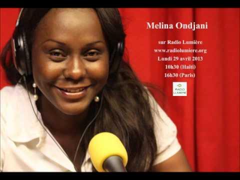 Melina O. sur Radio Lumière Haïti