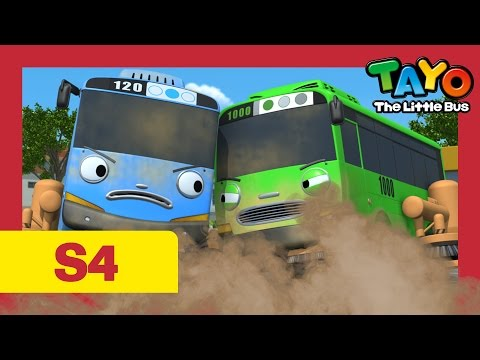 Tayo S4 #10 l Who is cooler? l Tayo the Little Bus l Season 4 Episode 10