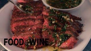 RECIPE: Mark Bittman's Grilled Skirt Steak with Chimichurri Sauce   Food & Wine