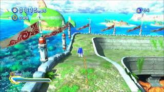 Sonic Generations (PS3): Seaside Hill - Modern - S-Rank