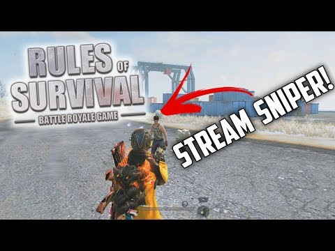 MEDAL & STREAM SNIPER TEAM UP! - Rules of Survival
