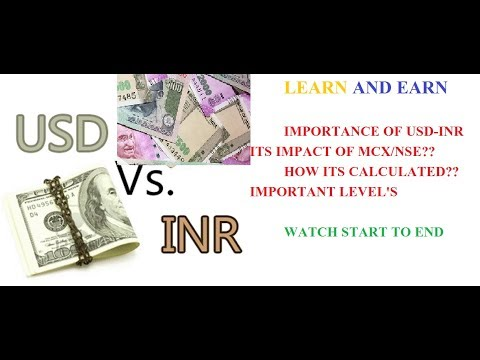 USD-INR :MUST WATCH FOR COMM/EQUITY TRADER'S : ITS IMPORTANCE & IMPACT ON MCX/EQUITY AND ECONOMY