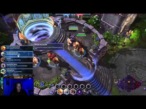 HOTS Action - Tychus Rattlin' and Gattlin' w/tekmojo Kyle and James
