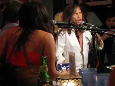 Steven Tyler - Jaded (Live Footage)