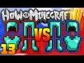 "How 3 Minecraft #13 - ""RED vs BLUE DIAMOND BATTLE!"" - (H3M SMP) w/PrestonPlayz"