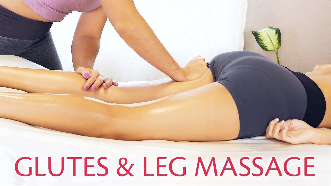 Ultra Relaxing Deep Glutes & Legs Massage w/ Tessa & Courtney