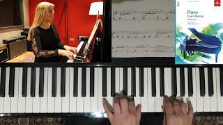 Arabesque by Johann Friedrich Franz Burgmüller - ABRSM Grade 2 Piano Exam 2019 2020 B1 played by Mel