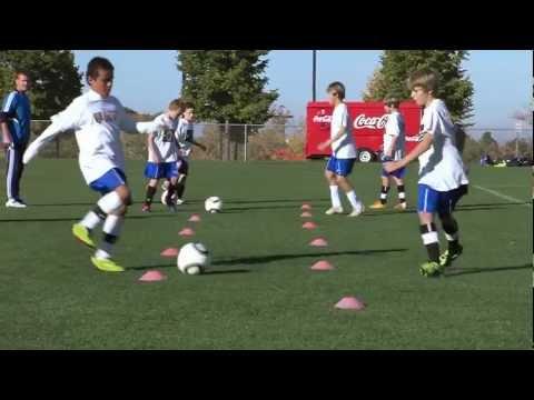 Soccer Training  Passing Drills 1