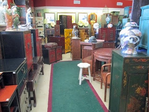 Golden Lotus Antiques store tour 7
