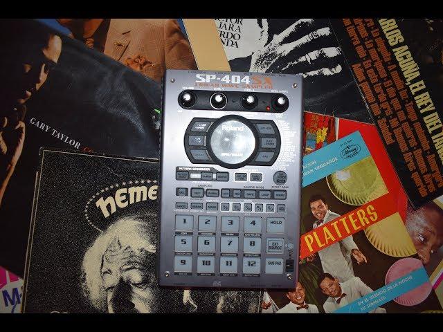 Roland SP 404 SX (El Chame Beats) Beat #1