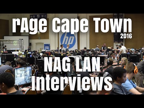 rAge Expo Cape Town 2016 - NAG LAN Interviews